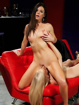 MILFs Darryl Hanah and India Summer get a little girl crazy with each other as the taste the flesh.